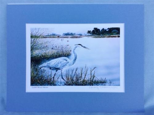 Harry Richardson Prints - Heron