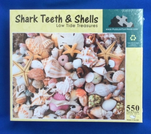 Shark Teeth & Shells Puzzle