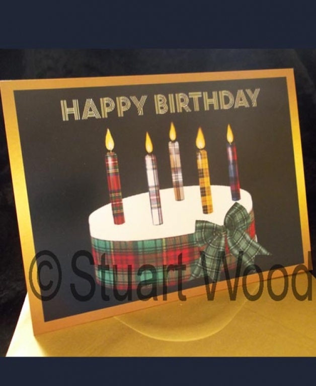 Signed Personalised Birthday card