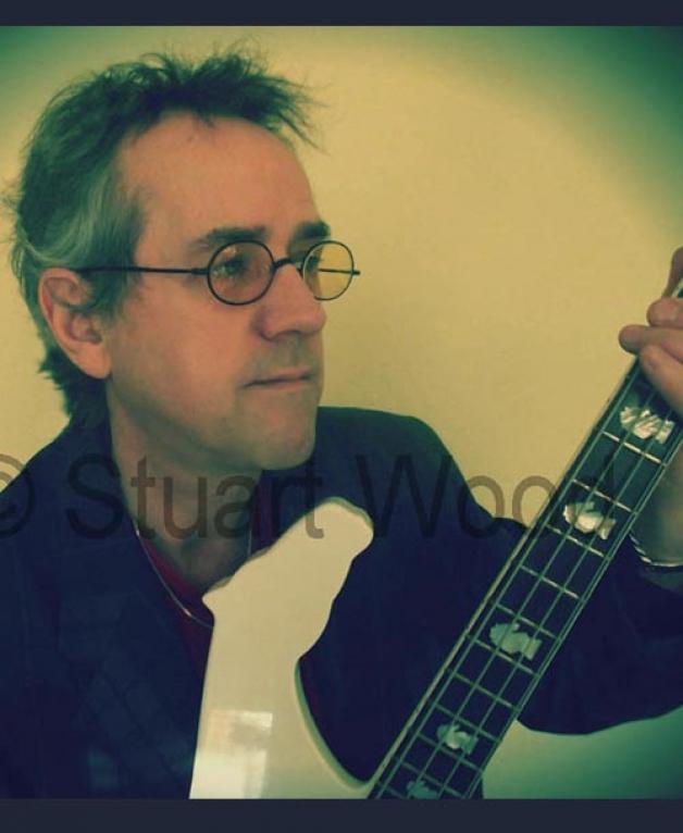 Signed Photo Stuart with White Knight