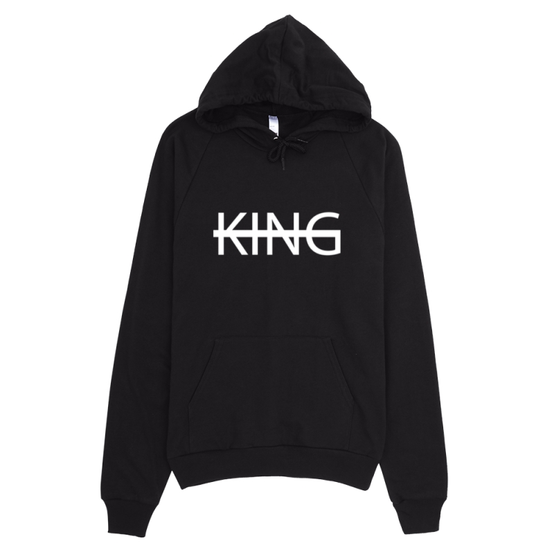 BLACK KING Fleece Pullover Hoodie