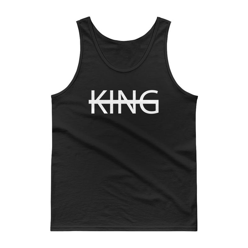 Black KING Tank Top