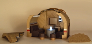 Weather Damage Desert Alcove Set (ELECTRONIC)