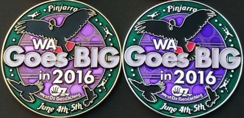 WAGB2016 Trackable Coins