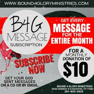 B4G Monthly Email Subscription