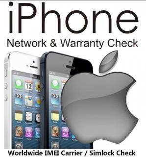 iPhone Sim Status & IMEI Check Services