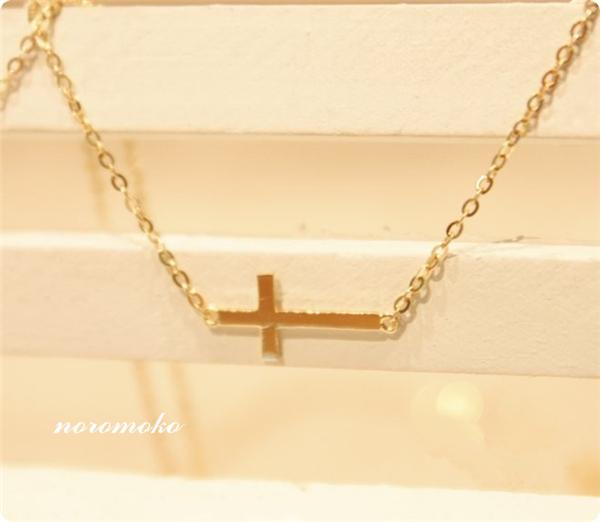 0253a596884a19 クロスネックレス ゴールド レディース ダイヤ ネックレス 十字架 人気