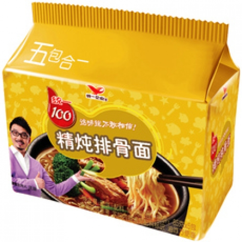 UNI Noodles Bag - Stewed Pork Chop 105g*5packs