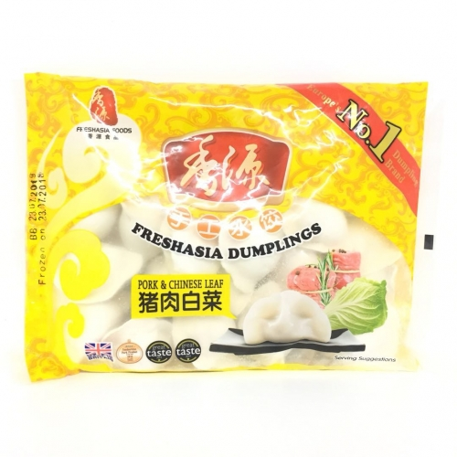 FA Pork Cabbage Dumplings 410g