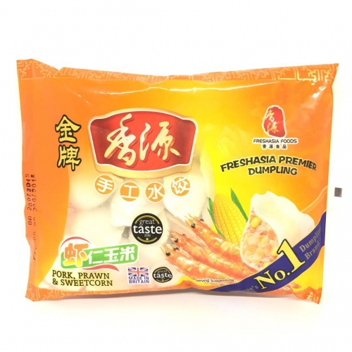 FA Pork & Prawn Sweetcorn Dumplings 390g