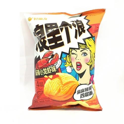 ORION CORN CHIPS - SPICY CRAYFISH FLV 65g