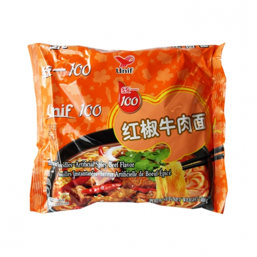 UNI Noodles Bag - Spicy Beef 108g