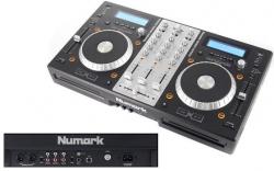 Leitor duplo + Mesa Numark Mixdeck Express - 2 CD + 2 USB + MP3 + MIDI