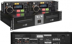 Leitor duplo Denon DN-D4500 MK2 - 2 CD + USB + MP3 + AAC + AIFF + WAV