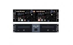 Pack para DJ Denon 1 - Controlador duplo DN-HC4500 + Drive de Leitor duplo DJ BU-4500 - CD + 2 USB + MP3 + MIDI