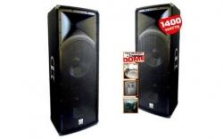 Coluna VSound VSS215 - 1.400W - 2x15 polegadas - vertical