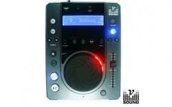 Leitor single VSound Xtreme CD1 MP3 - CD-R + USB + MP3 + SD Cards - com scratch