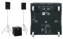 P.A. amplificado HK Audio Lucas Max - Subgrave + 2 Tops - 2.000-4.000W