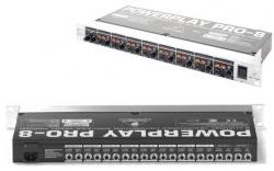 Pre-Amplificador para Phones Behringer HA8000 Powerplay Pro 8 V2 - 8 vias