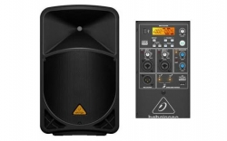 Coluna amplificada Behringer B115MP3 - 1.000W - 15 polegadas - classe D - USB + MP3