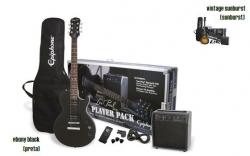 Pack de Guitarra Epiphone Player - Guitarra + Amplificador + Saco + Cabo + Alca + Afinador + Palhetas