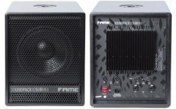 Subgrave amplificado Fame Soundpack 10 SUB MKII - 360-720W - 10 polegadas - biamplificacao