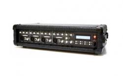 Cabeca-Mesa amplificada VSound Xtreme Power 200A - 200-400W - 4 vias - Efeitos + USB + MP3 + USB