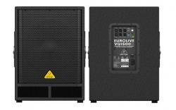 Subgrave amplificado Behringer VQ1500D - 500-1.000W - 15 polegadas - classe D