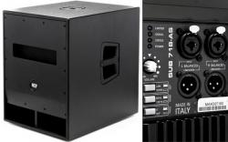 Subgrave amplificado RCF Sub 718-AS - 700W - 18 polegadas - classe D