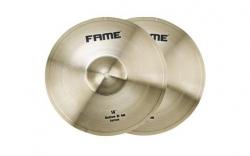 2 Pratos de Choque Fame Starter Hi-Hat - 14 polegadas