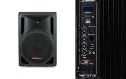Coluna amplificada Mark MBS 10 A USB - 280-400W - 10 polegadas - USB + MP3 + SD Cards