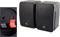 Pack de 2 Monitores passivos Behringer Monitor 1C Control - 100-200W - 2 vias - 5,5 polegadas
