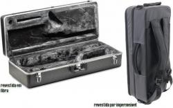 Flightcase para Saxofone Alto - rigida (revestida em fibra ou impermeavel)