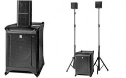 P.A. amplificado HK Audio Lucas Nano 600 - Subgrave + 2 Tops - 460-920W