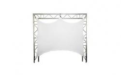 Tela de Projeccao 9 - 1,50x2,00m - para truss's, estruturas ou molduras