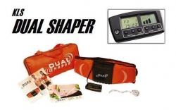 Maquina de Fitness KLS Dual Shaper - emagrece, massaja e tonifica abdominais, pernas e costas