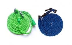 Mangueira extensivel de 25 a 50m + Pistola CVT (igual a XHose, XXL Hose e Stretch Hose) - verde, azul ou laranja