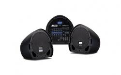 P.A. amplificado Alto Mixpack Express - 2 Colunas + Mesa - 350-700W