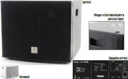 Subgrave The Box Pro Achat 112 Sub - 1.400W - 12 polegadas - preto ou branco