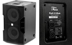 Subgrave The Box Pyrit 212 Sub - 1.000-2.000W - 2x12 polegadas