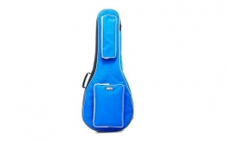 Saco para Guitarra Thomann (Concerto ou Classica) - 3/4 - 100x35x10cm - almofadado 20mm - azul