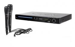 Leitor de Karaoke Sunstech DVP - CD + DVD + CDG + VCD + USB + MP3 + 2 Micros e ligacao