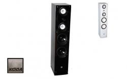 Coluna Koda D858F/WH - 180-360W - 2x8 polegadas - preto ou branco