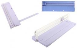 Guilhotina de papel - A4 - de corte horizontal - corta 5 ou mais folhas (menor capacidade)