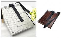 Guilhotina de papel - A4 - de corte vertical - corta 15 ou mais folhas (maior capacidade)