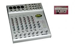 Mesa amplificada MKC MXM802AMP - 200-400W - 8 vias