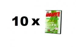 Pack de 10 Discos Portugal Karaoke - de qualquer tipo (DVD, VCD ou Formato Digital)
