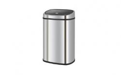 Caixote do Lixo em Inox - abertura manual de pressao - 58 litros (igual ao Brabantia)