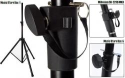 Tripe de Coluna - 35mm - standard - metal/aluminio - Millenium BS-2211B/Music Store Box-1-5/Ibiza SS01B/A.H.SPS023/SSUK-1