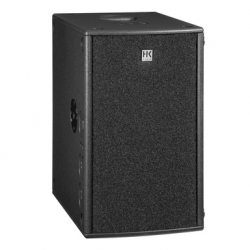 Subgrave amplificado HK Audio Premium PR:O 210 Sub A - 600-1.500W - 2x10 polegadas